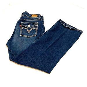 LEVIS 529 Curvy Bootcut 33/30 Jeans